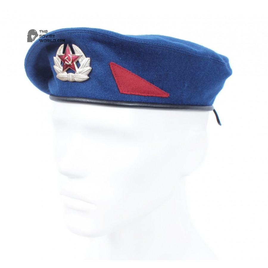 Soviet Army KGB hat beret , Russiam Mitary Committee of State Security summer hat