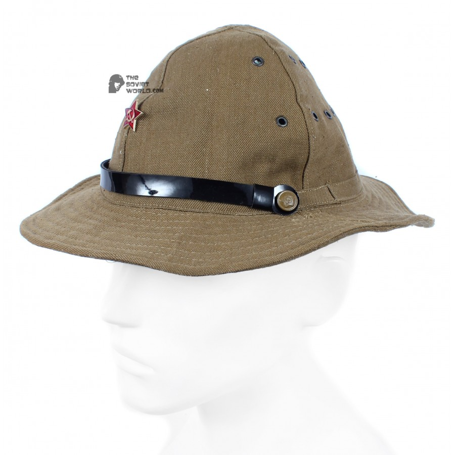 Soviet Afghanistan war summer hat, Russian Army soldier's military hat panama, Afganka