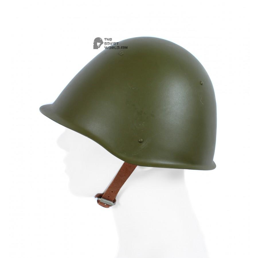 Original Vintage Soviet military protection steel helmet SSH-68, USSR stuff 1970s
