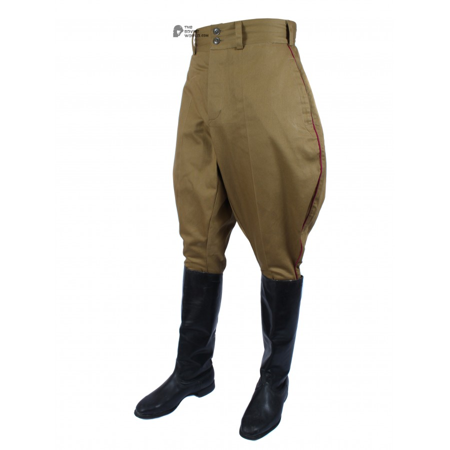 RKKA 1935, Soviet Military Officer's Infantry Pants galife, USSR Red Army stuff M35