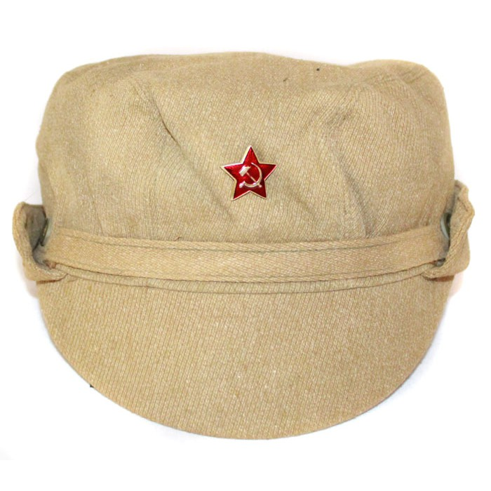 Russian Army Soviet summer military original Afghanistan hat with mask