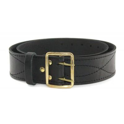 Soviet  military Portupeya black Russian Officer leather belt