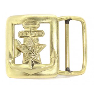 Soviet army Russian military Generals NAVY buckle for belt