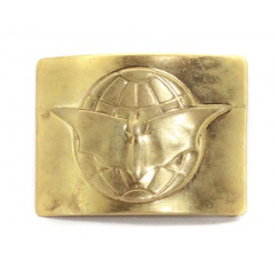 Soviet army Russian military intelligence buckle for belt