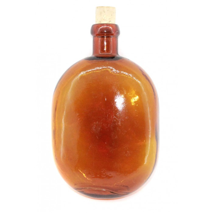 GENUINE Soviet / Russian Red Army soldier brown Water FLASK M39