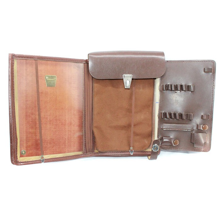 Soviet military Officer's leather Map bag case