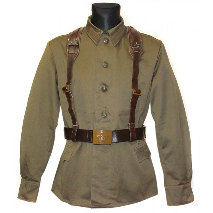 Soviet / Russian Army military uniform - Jacket M73 with belts system