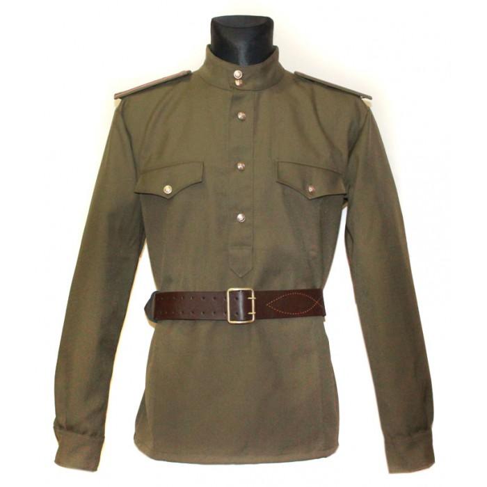 Soviet  military Portupeya brown Russian Officer leather belt