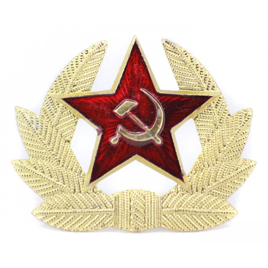 Soviet Military / Russian army Red Star Cocarde badge
