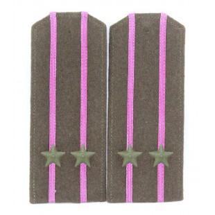 Soviet WWII / Red Army original shoulder boards high-ranking officer of RKKA