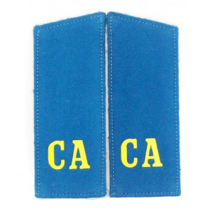 "Russian Military shoulder boards ""CA Soviet Army"" of  Aviation"
