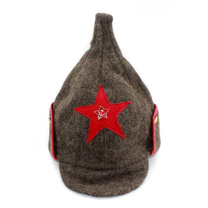 Soviet RKKA infantry russian Red Army woolen winter hat BUDENOVKA