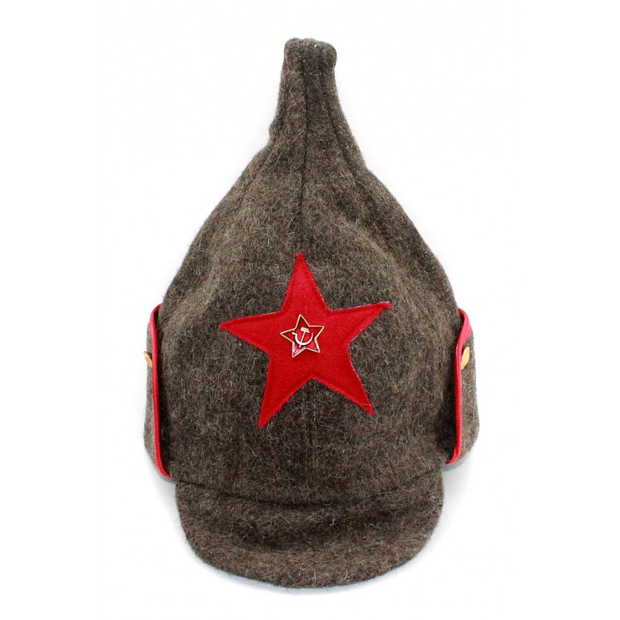 Soviet RKKA infantry russian Red Army woolen winter hat BUDENOVKA