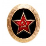 Soviet Army Russian military MARINES fleet hat badge