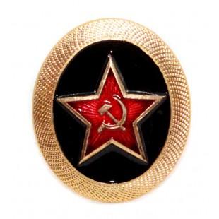 Soviet Army Russian military MARINES fleet hat badge