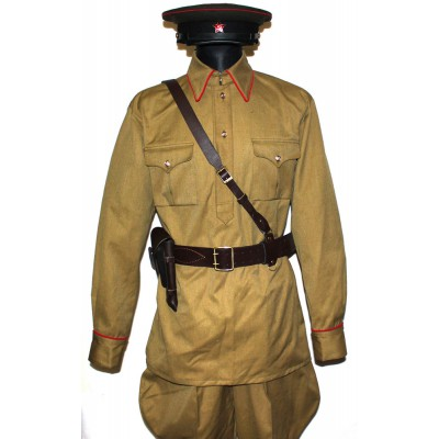 Soviet Red Army RKKA Russian military Artilery, Tank force uniform M38
