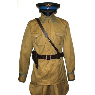 Soviet Red Army RKKA Russian military AIR force uniform M38