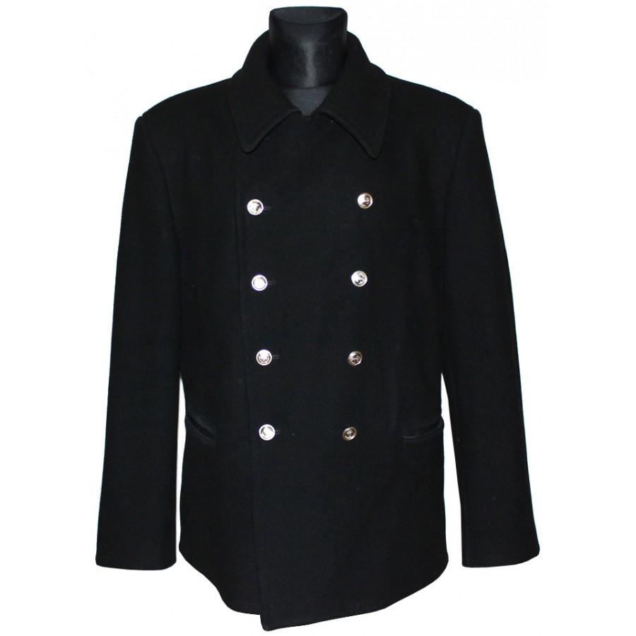 Soviet Fleet / Russian Naval winter warm Officer's jacket, coat 'Bushlat'