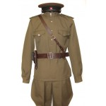 Soviet Red Army WWII Russian military Artilery, Tank force uniform M43