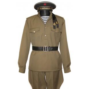 Soviet Red Army WWII Russian Marines uniform M43