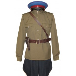 Soviet Red Army WWII Russian military NKVD uniform M43