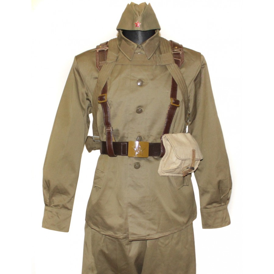 Soviet / Russian Soldier complete military uniform M73