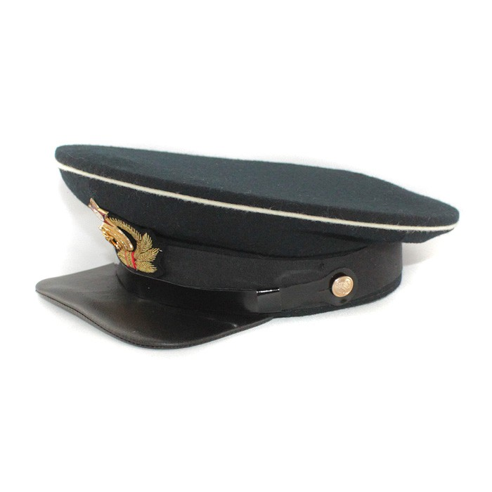 Soviet russian Red Army Naval Aviation Officer's visor cap WWII with Original cocarde