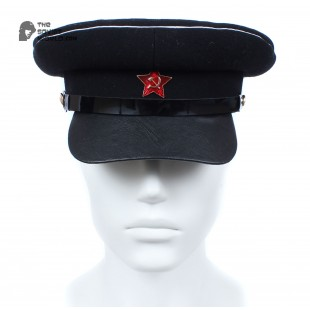 Soviet russian Red Army Naval RKKA Officer's USSR visor cap WWII
