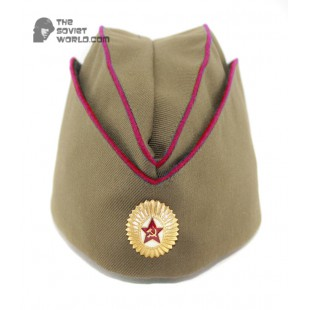 Soviet Russian MVD Officer's military summer hat Pilotka