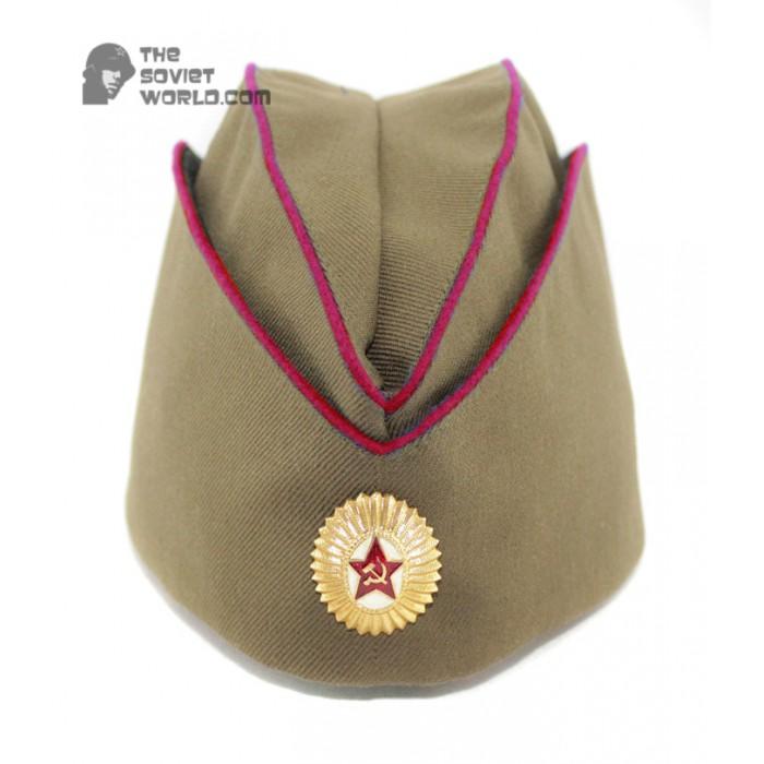Soviet Russian MVD Officer's military summer hat Pilotka