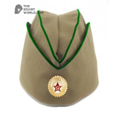 Soviet russian military border guards department Officer's summer hat Pilotka