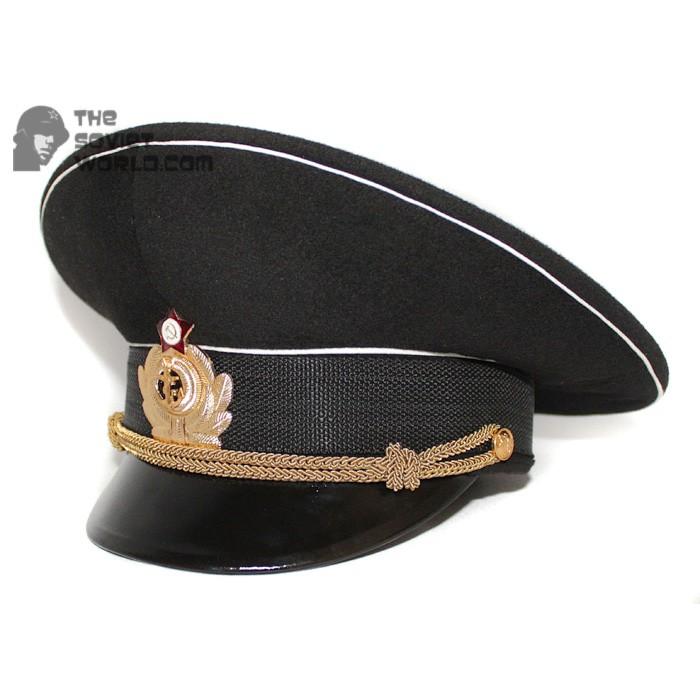 Soviet Fleet / Russian Naval Officer's visor hat M69