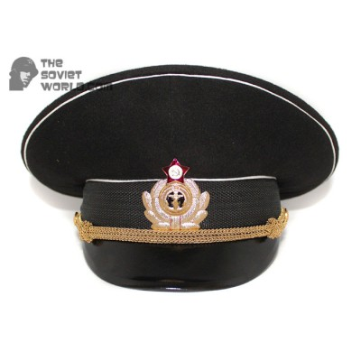 Soviet Fleet / Russian Naval Officer's visor hat M69
