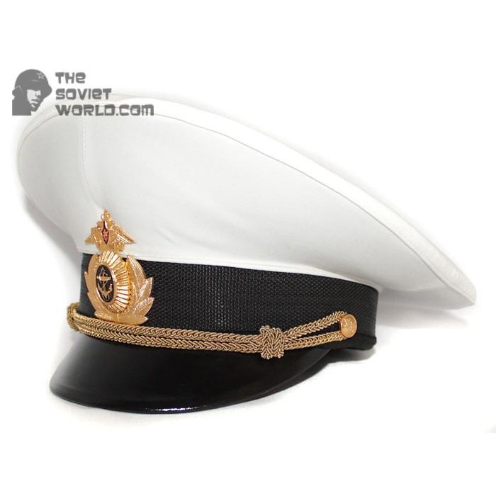 Russian Fleet Naval Officer's PARADE visor hat
