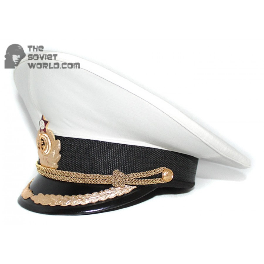 Soviet Fleet / Russian Naval High rank Officer's PARADE visor hat M69