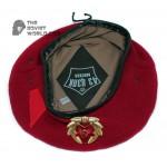Russian Soviet Maroon Beret military summer Spetsnaz hat