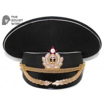 Soviet Fleet / Russian Naval High Rank Officer's visor hat M69