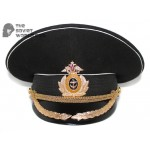 Russian Fleet Naval High Rank Officer's visor hat