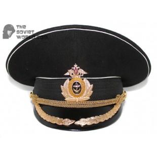 Russian Fleet Naval High Rank Officer's visor hat