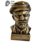 Russian bronze Soviet Communist bust of Lenin