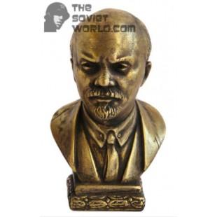 Russian bronze Soviet bust Vladimir Lenin