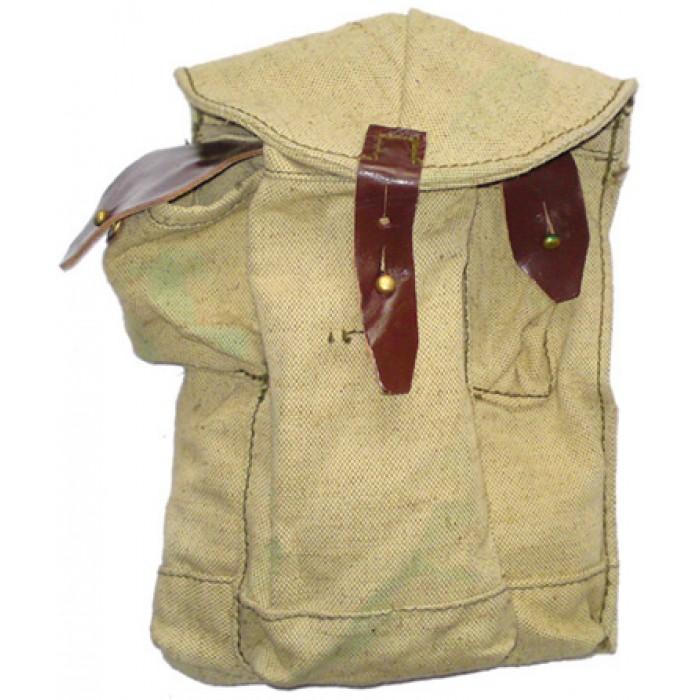 Soviet military AK magazine pouch belt bag 3 magazines