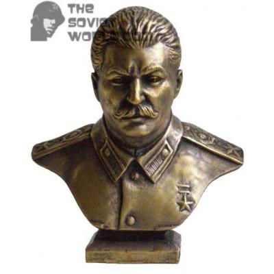 Russian Bronze Soviet bust of Stalin