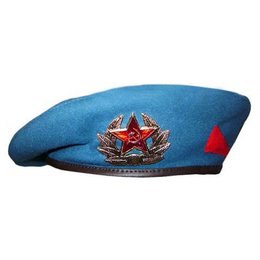 Soviet Russian Airborne troops blue VDV Beret summer hat