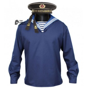 USSR / Russian Navy blue Sailor jacket with collar