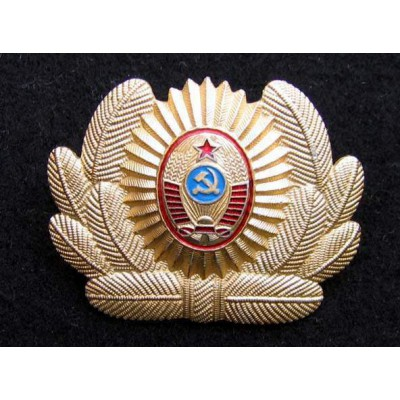 Soviet POLICEMAN COCARDE badge #3