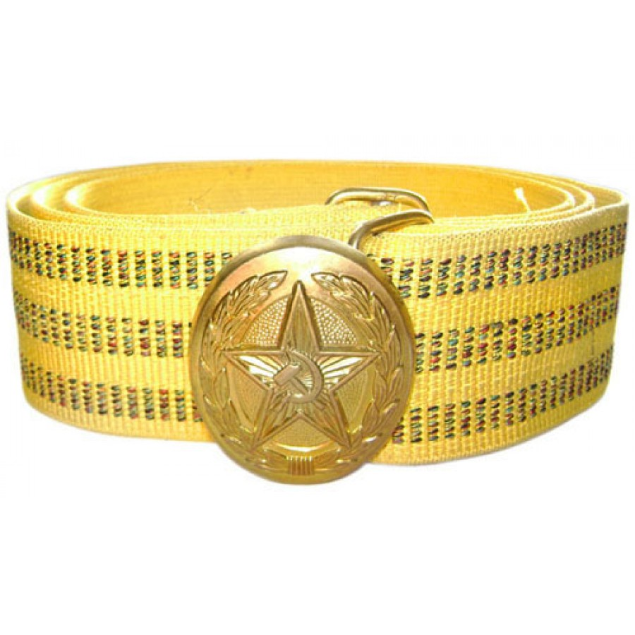 Russian / Soviet Parade military golden BELT