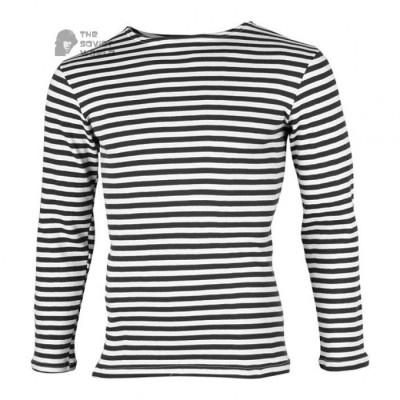 Soviet Fleet russian NAVY striped t-shirt, vest (with long sleeves)