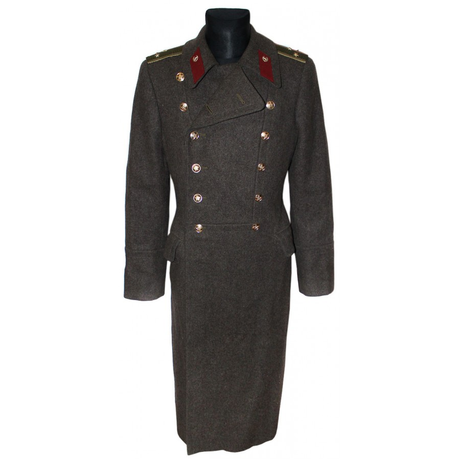 USSR MILITARY SOVIET / Russian ARMY OFFICER OVERCOAT
