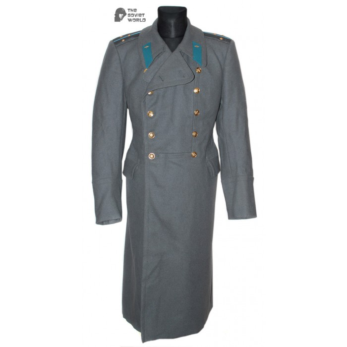 USSR MILITARY SOVIET / Russian AVIATION PARADE OFFICER OVERCOAT